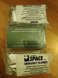 The Original SPACE Brand Emergency blanket