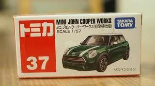 全新 TAKARA TOMY 38 Mini John Copper Works 初回特別仕樣