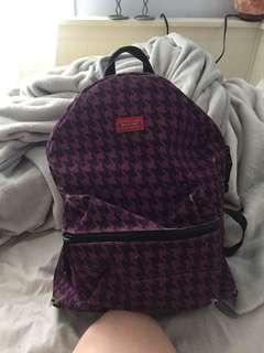 Patterned Dickies backpack