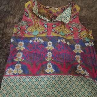 tank blouse ethnic boho
