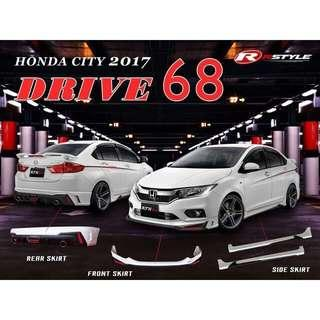 Honda City 2017 Drive 68 Body Kit