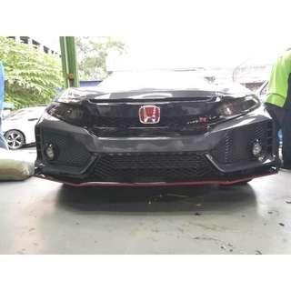 Honda Civic FC Type R Body Kit