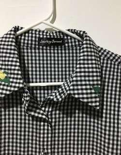 Checkered Shirt Work Wear from Zalora