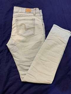 🚚 「3件500」Net 合身窄管 牛仔褲