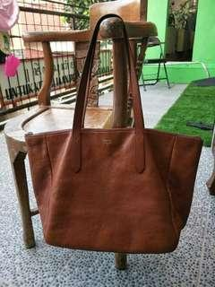 Fossil sydney shopper brown