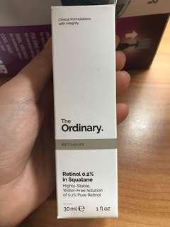 🚚 The ordinary retinoid 0.2%