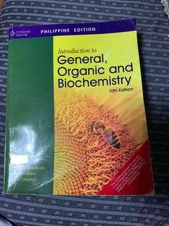 General, Organic and Biochemistry book
