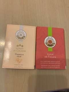 Roger&Gallet perfume 香水
