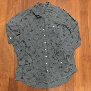 Loose button down shirt #MFEB20