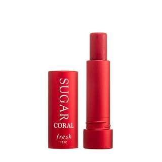 Fresh 珊瑚紅黃糖潤色護唇膏4.3g