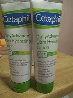 Cetaphil lotion (dry to very dry skin)