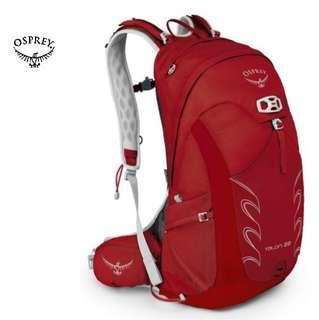 OSPREY TALON 22 DAY HIKING | ADVENTURE RACING | DAYPACK  Color : MARTIAN RED