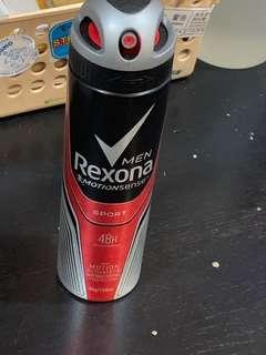 Sports spray(rexona)