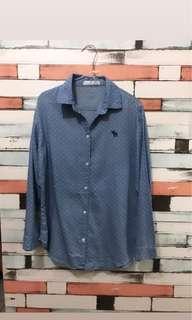 Dots Blue Shirt