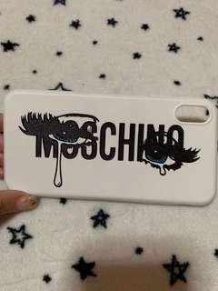 🚚 Moschino IPhone XS MAX Casing