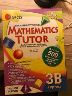 Secondary 3 assignment book