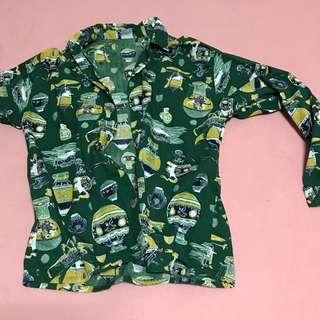 🚚 [Softly vintage]古著花襯衫