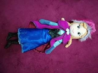 Anna frozen plush toy