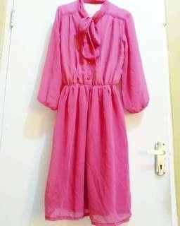 Dress vintage retro jadul impor