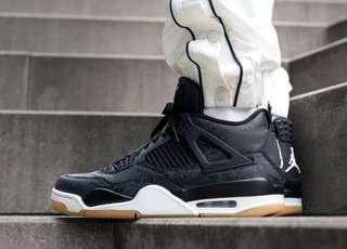🚚 Nike Air Jordan 4 Retro SE Black Laser US9.5 公司貨 CI1184001 30th 四代 30週年