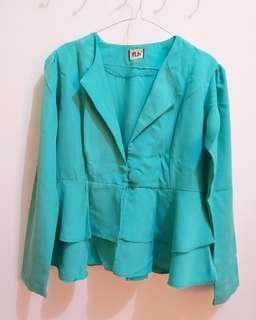 Cardigan blazer outer impor