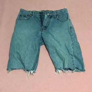 古著牛仔短褲