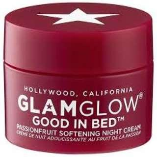 🚚 BN GLAMGLOW Good in Bed Passionfruit Softening Night Cream 5ml