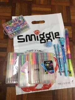 Smiggles stationary