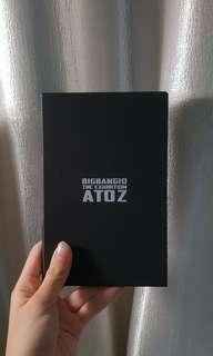 (BARU LIMITED EDITION) BIGBANG The Exhbition A to Z Pamphlet Photocards