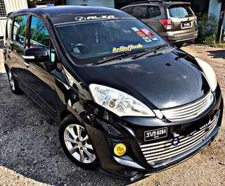 PERODUA ALZA EZi 1.5 AUTO TIPTOP CONDITIONS LOW MILLAGE !!!