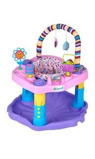 Brand New Evenflo Exersaucer Bounce and Learn Sweet Tea, Party