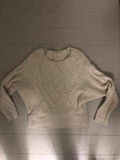 Anthropologie XS White Sweater