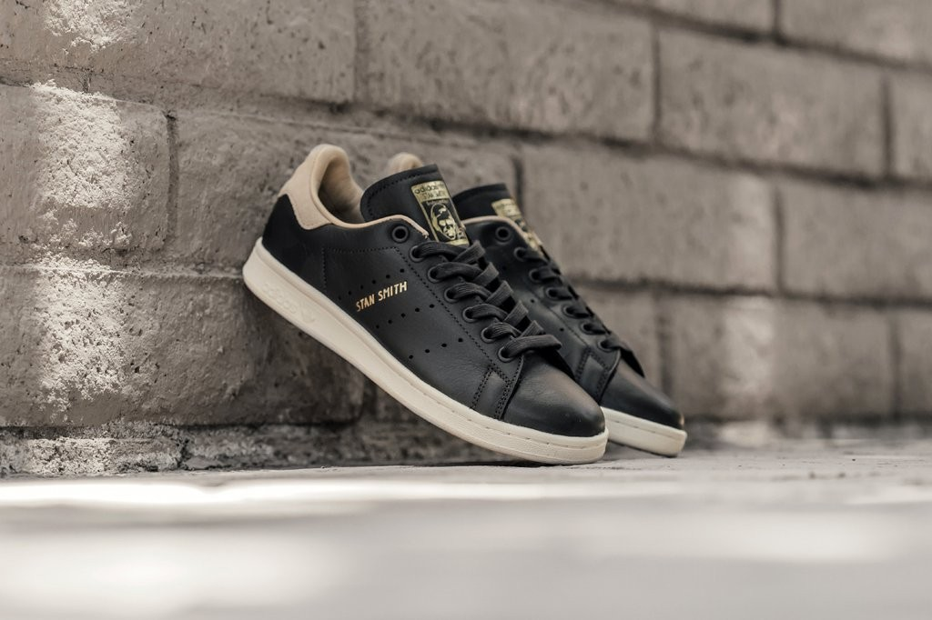 release date: 57568 9517d Adidas Stan Smith Black Shoes uk6 eur 37, Women s Fashion, Shoes ...
