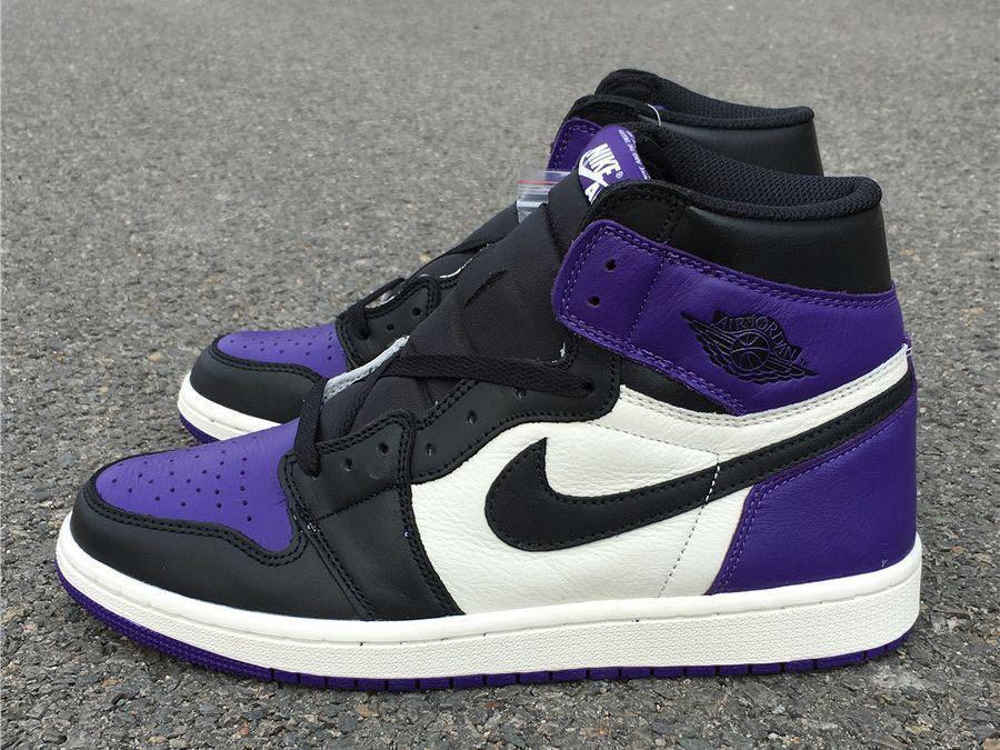 e949ed3c005 Air Jordan 1 OG Court Purple, Men's Fashion, Footwear, Sneakers on ...