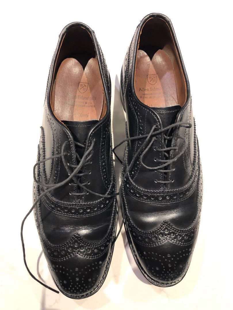 5ab4cb2ae538f Allen Edmonds US 8.5 McAllister Wingtip Brogues, Men's Fashion, Footwear,  Formal Shoes on Carousell