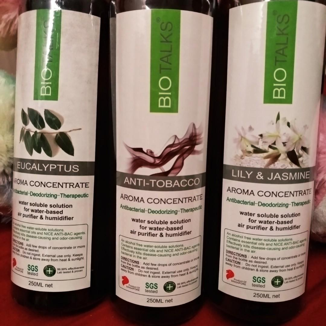 Aroma concentrate Essential oils for diffuser humidifier