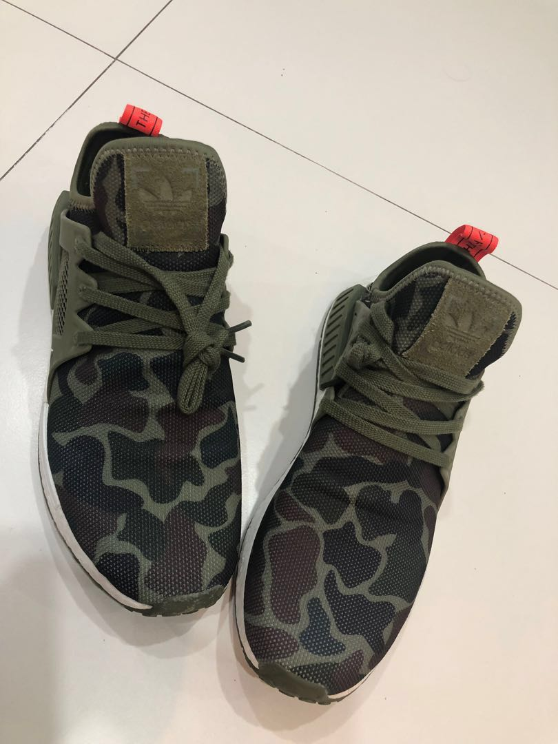 Authentic ADIDAS NMD XR1 DUCK CAMO Size US11 OLIVE GREEN BA7232