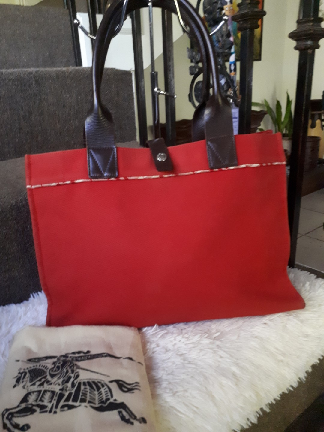 Authentic Burberry Tote bd37d07826119