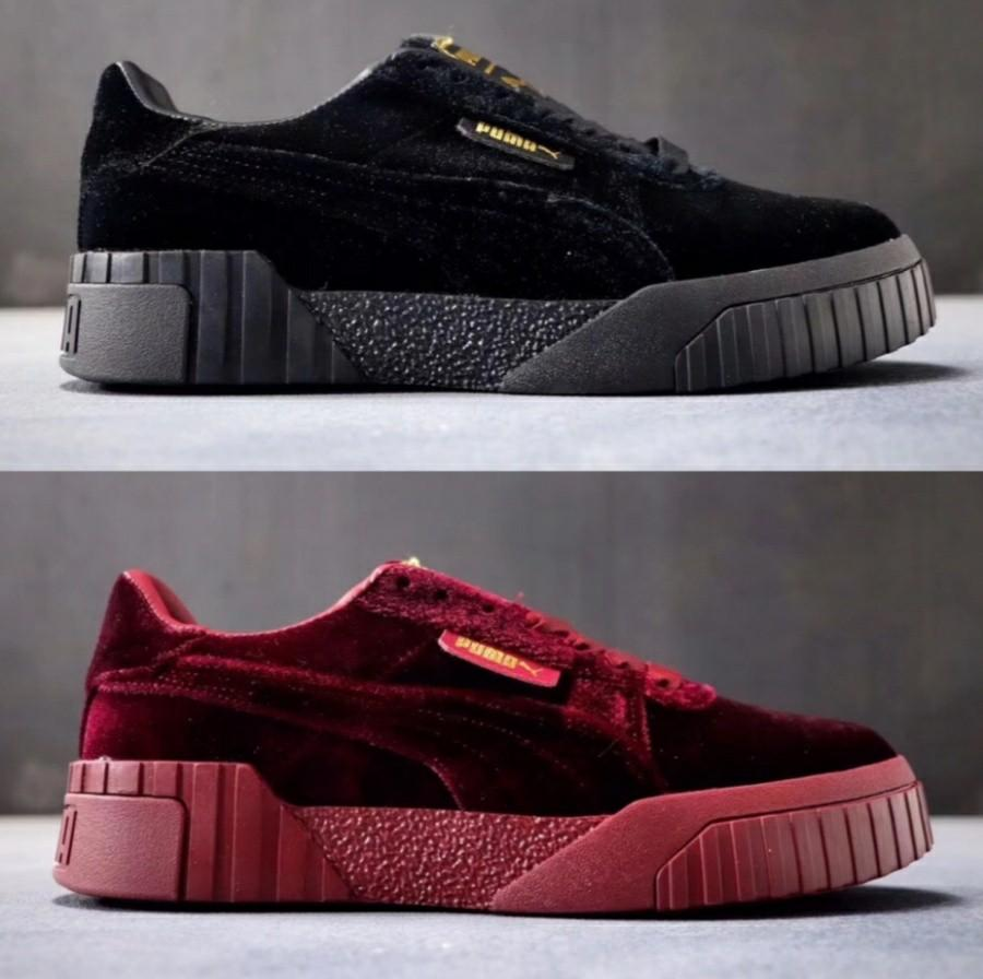 cheap for discount 88dfb 565f6 puma cali velvet, Women's Fashion, Shoes, Sneakers on Carousell