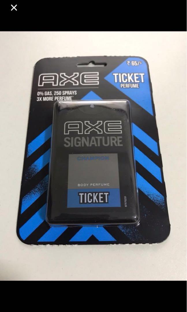 Axe Signature Pocket Perfume Health Beauty Perfumes