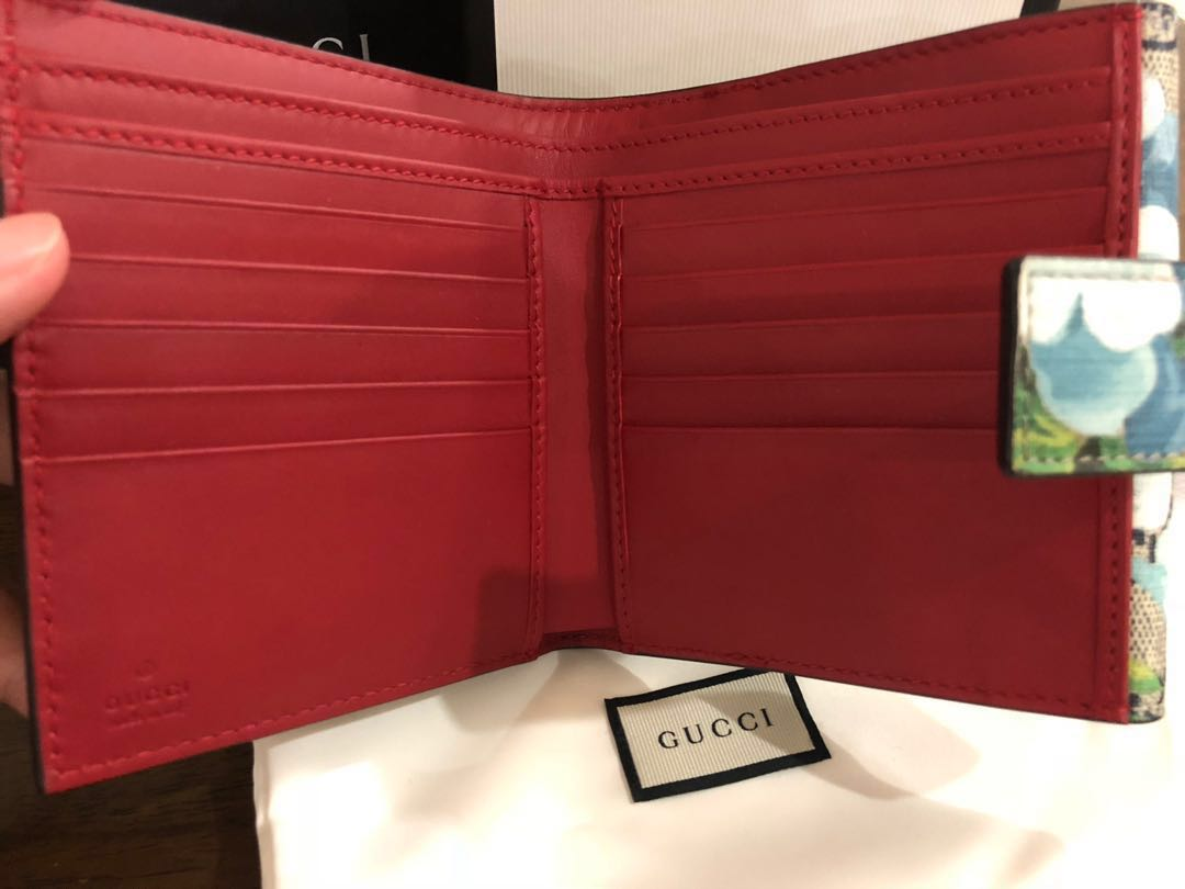 c8feb85400943e BNIB Authentic Gucci Blooms French Wallet, Women's Fashion, Bags ...