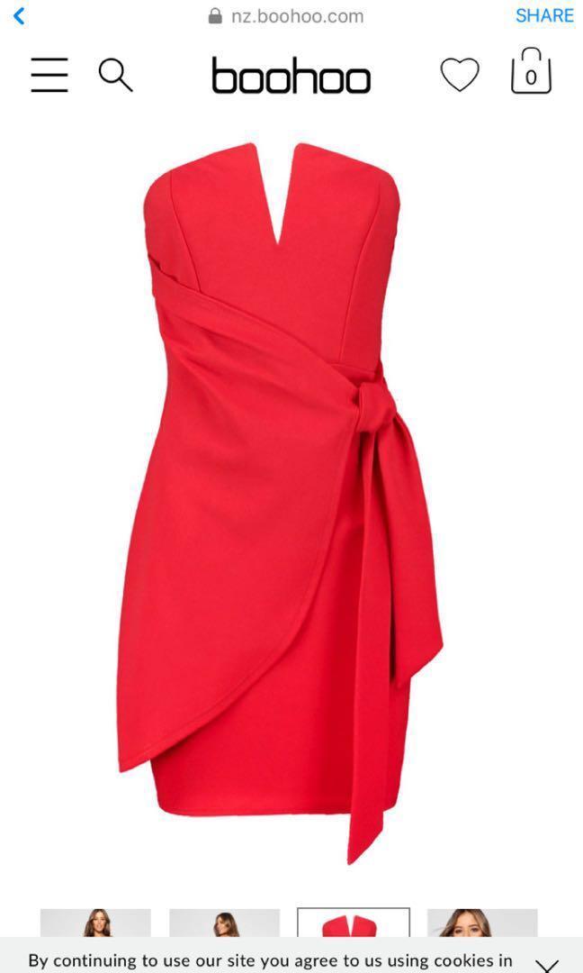 Boohoo Petite Mini Dress size 8