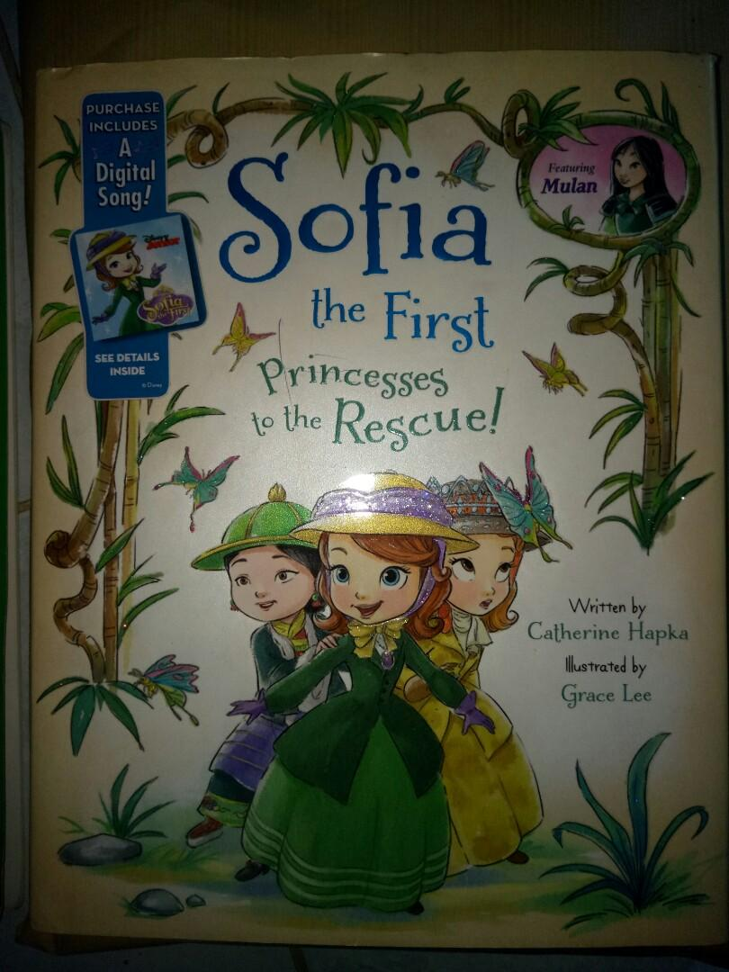 buku anak bahasa inggris sofia the first princess to the rescue