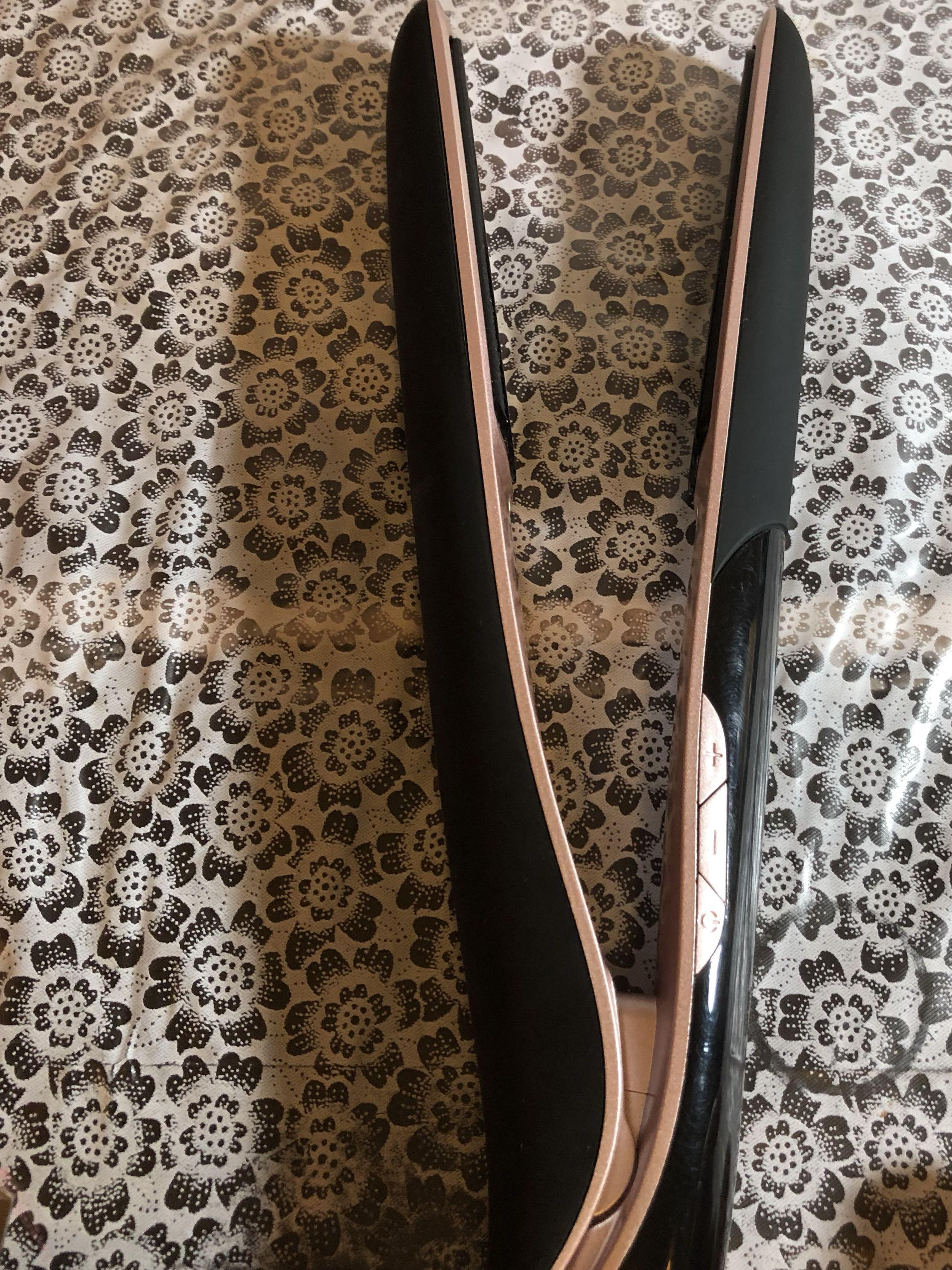 Cabello hairstraightener and curler 2 in 1