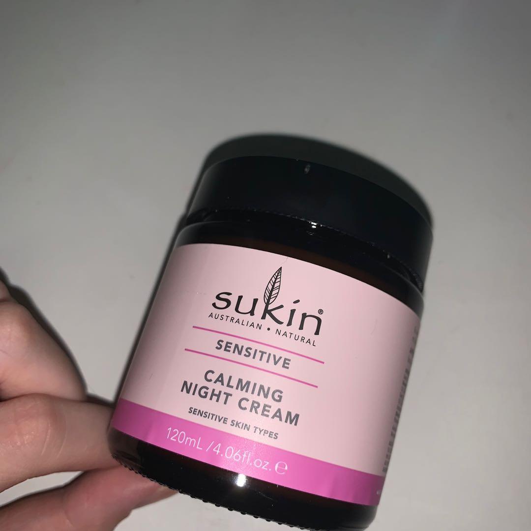 calming night cream
