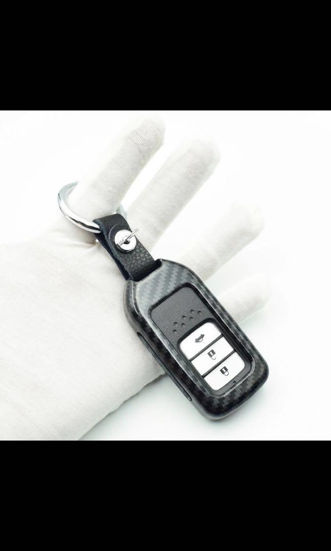 Carbon fiber print Key Remote casing