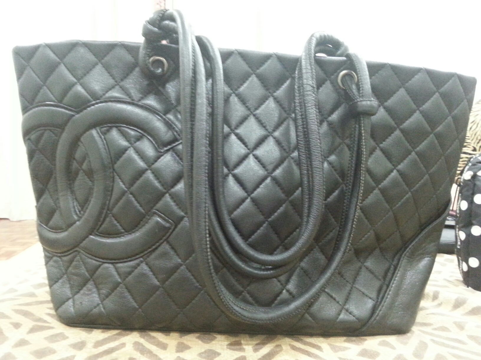 09a19b3d86fd Chanel Cambon Authentic Tote Bag, Luxury, Bags & Wallets, Handbags ...