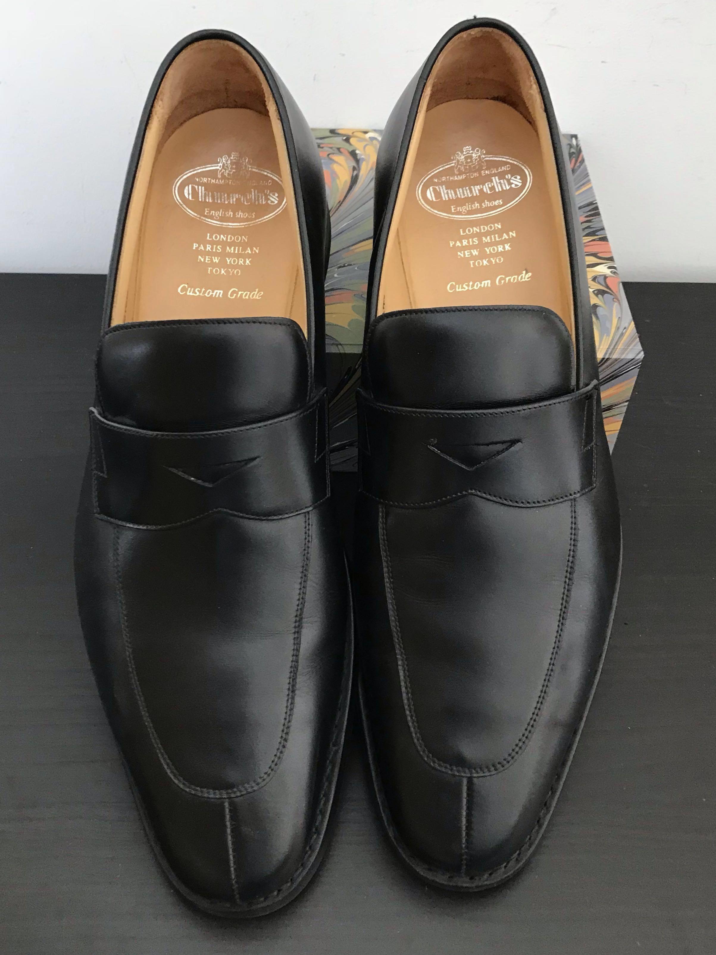 03112d52e056b Church's Lanton Penny Loafers - EU 43/ US 10/ UK9, Men's Fashion ...