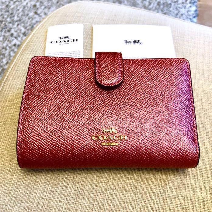 e8fbabb0f40 ❤️Coach Wallet Ladies New Authentic BNWT, Women's Fashion, Bags ...