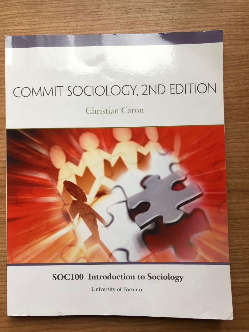 Commit Sociology 2nd Edition by Christian Caron